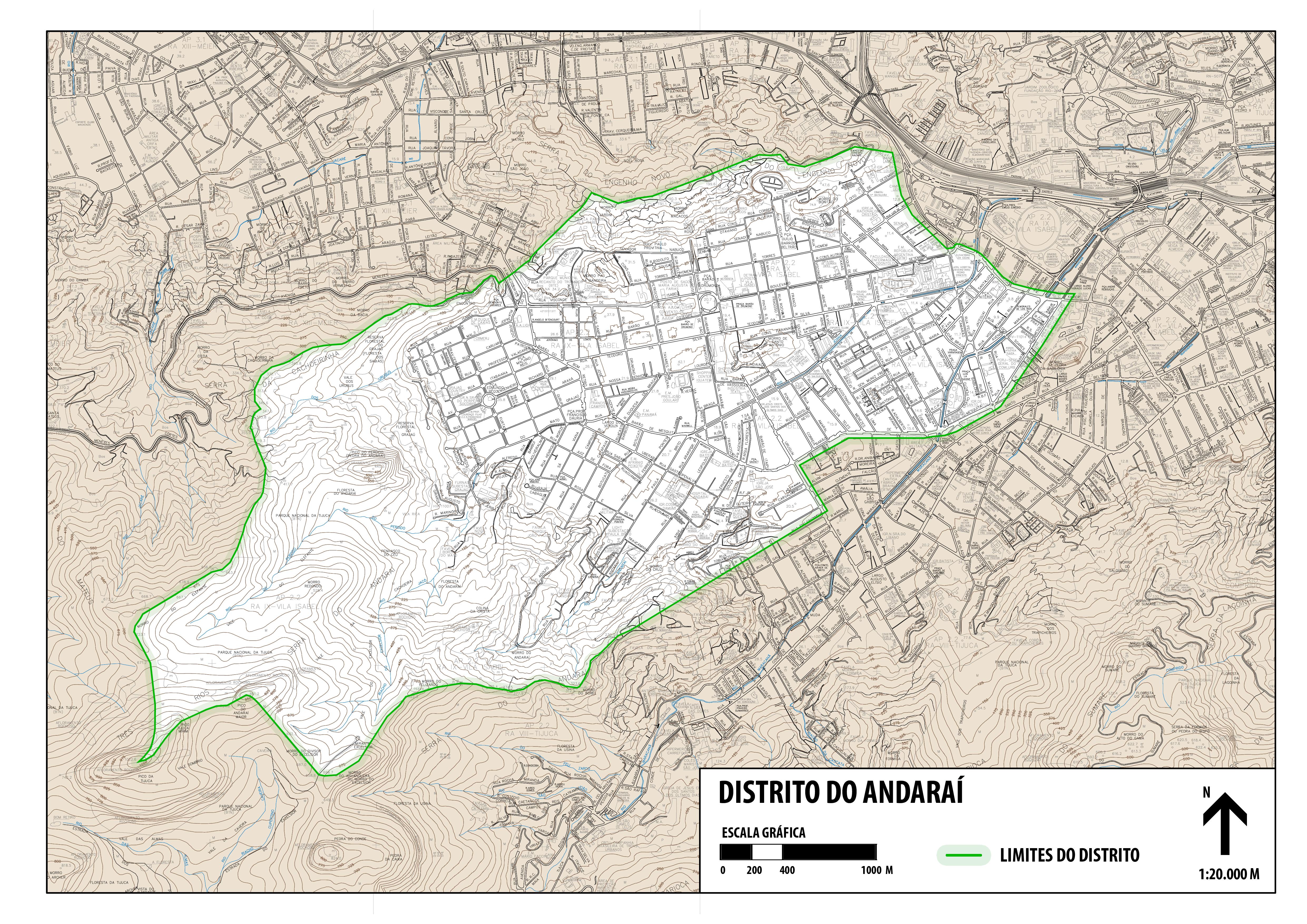 Distrito Municipal do Andaraí